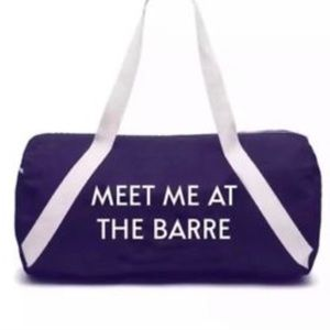 Meet Me At The Barre Private party Bag